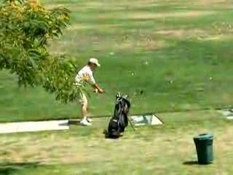The worst golf swing EVER!!!
