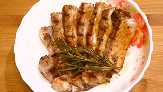 Мясо на сковороде- гриль