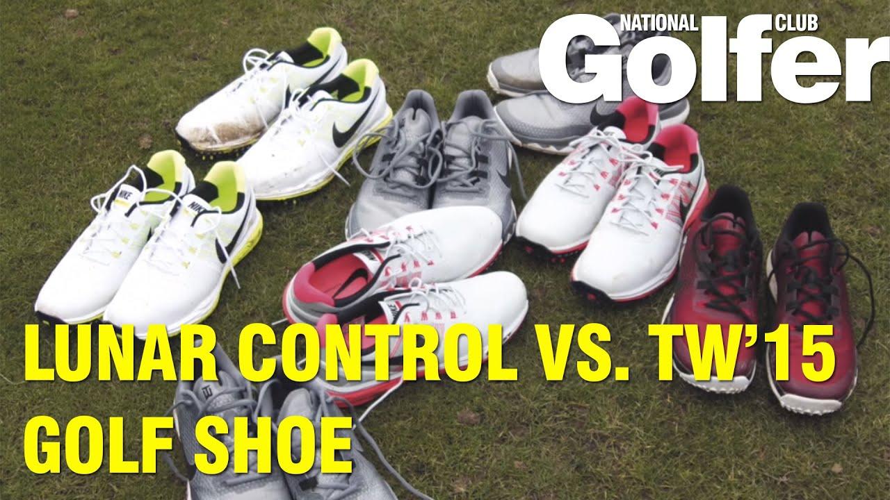 9e635981060071 Nike Lunar Control 3 vs TW15  Golf shoe review - YouTube