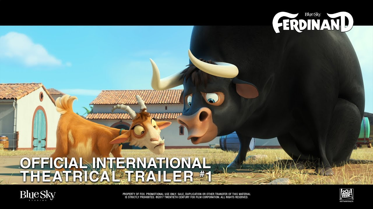 Download Ferdinand [Official International Theatrical Trailer #1 in HD (1080p)]