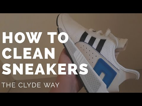 How to clean your Sneakers