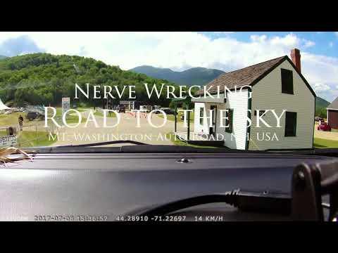 A Nerve Wrecking Road Trip to Mt. Washington Auto Road(HD)!