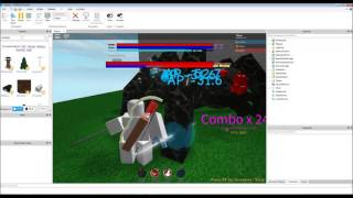 ZF Project, Twin Swords demo [Roblox Games Design/Demonstration]