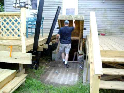 Basement Entry Thought The Deck Youtube