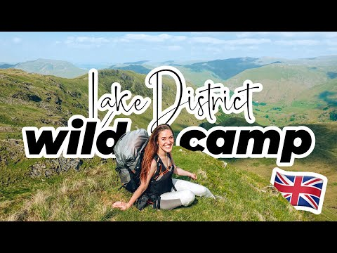 Wild Camping In The Lake District 🏕 | My First Time!