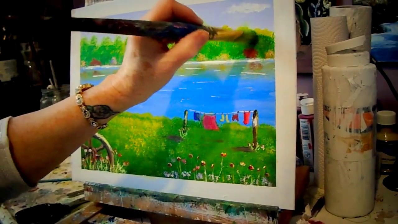 Acrylic Painting Tips And Tricks To Improve Your Paintings For Beginners