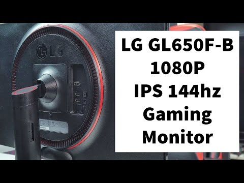 LG 27GL650F-B Review - 27 inch IPS 1080p 144hz Monitor