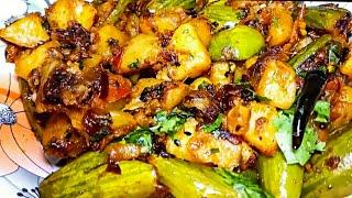 ऐसे बनाएँ स्वादिष्ट परवल आलू की सूखी सब्जी घर पर झटपट