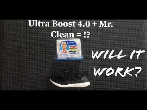 HOW TO REMOVE SCUFF MARKS ON ULTRA BOOST & OTHER SNEAKERS