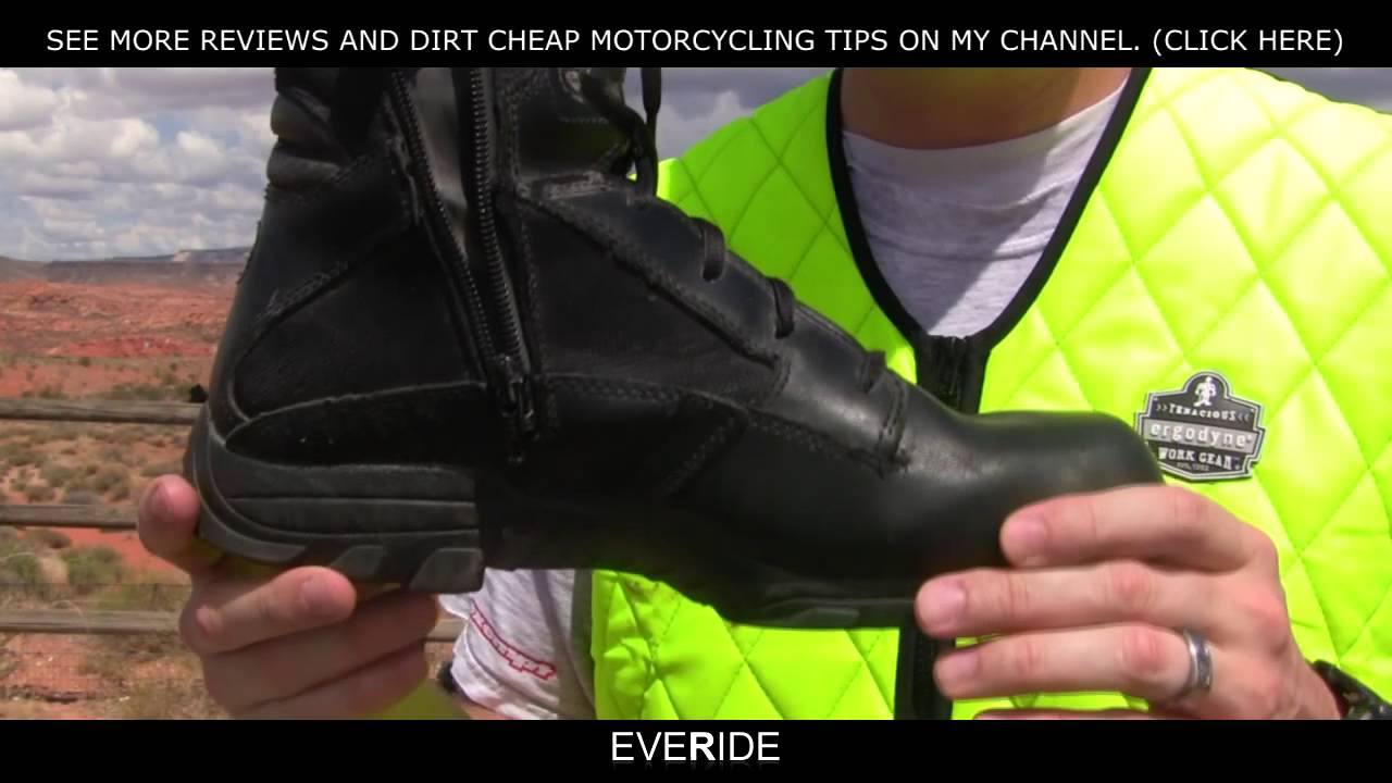 o#o Review - Best Dual Sport Motorcycle Boot for Comfort ...