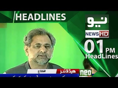 News Headlines 01:00PM | Neo News | 26 May 2018