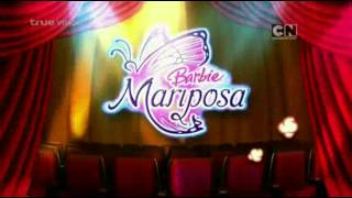 CN Asia : Cartoon Network Popcorn - Barbie Mariposa (Next+Opening)[Bumpers]