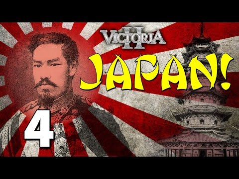 Vic2 Japan [4] Empire Of The Sun - Victoria 2 Heart Of Darkness Gameplay