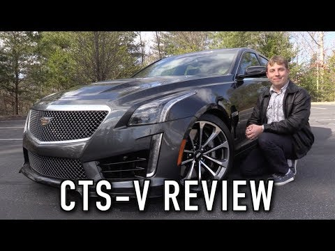 2016 Cadillac CTS-V: Start Up, Test Drive & In Depth Review