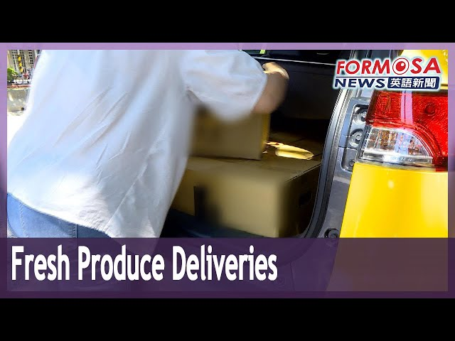 Fresh produce deliveries boom, taxis roped in to cut delivery times
