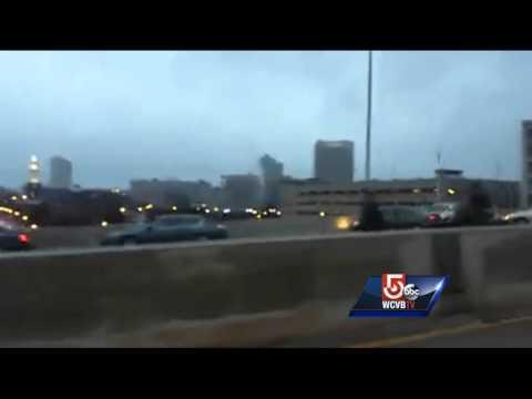 Uncut: Massive pileup on I-290