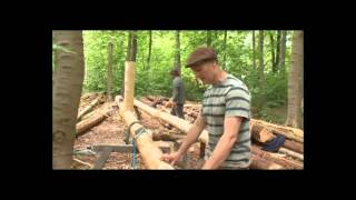 Строительство Круглый Лес Деревянным Каркасом 2(Бен Ло — обычный английский плотник — жил в вагончике на опушке леса и ничто не предвещало беды. Но задумал..., 2013-10-01T10:53:02.000Z)