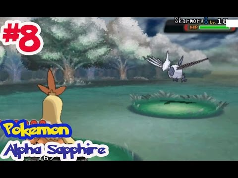 Pokémon Alpha Sapphire - Ep8 ย่องไปจับ แอร์มุโด้