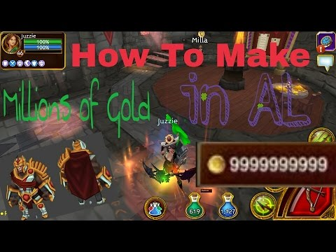 Arcane Legends | How To Earn Millions Of Gold (Merching - Farming) 1/3