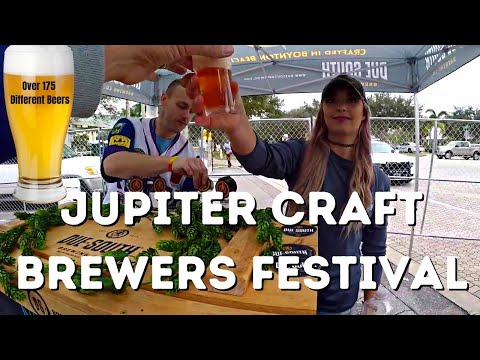 Best Beers In Florida....Craft Brewers Festival 2019 In Jupiter Florida