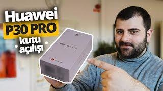 Huawei P30 Pro Kutusundan Çıkıyor - Karşınızda merakla beklenen telefon!