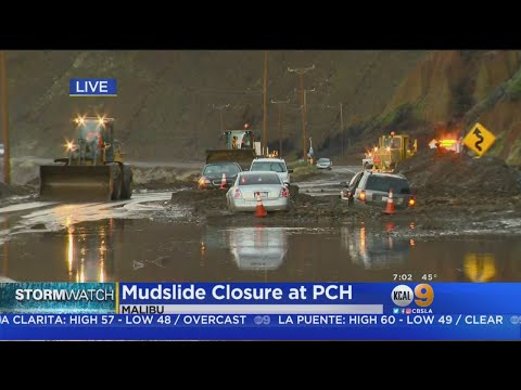 Portions Of PCH Remain Closed Following Mudslide