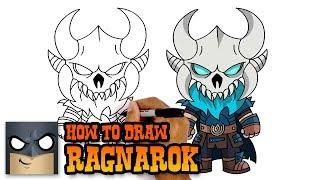 How to Draw Ragnarok | Fortnite | Awesome Step-by-Step Tutorial