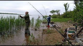 #15 Рыбалка на Течении с Берега. Река Волга. Чья Насадка Лучше . Ловля на Донку Закидушку