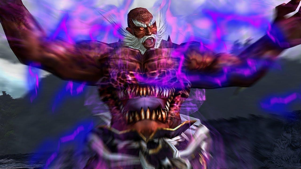 Tas Tekken 5 Jinpachi Mishima Youtube