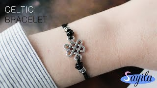 Sieraden maken - Celtic Bracelet (DIY tutorial by Sayila)
