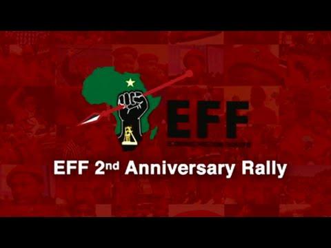 EFF's 2nd Anniversary Rally, Rustenburg
