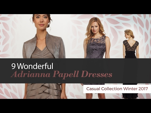 9 Wonderful Adrianna Papell Dresses Casual Collection Winter 2017