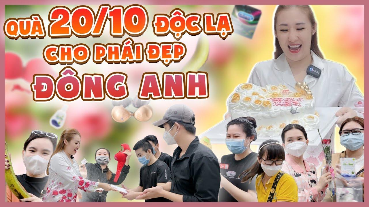 Màn tặng quà 20/10 siêu lầy lội cho đàn em thân yêu của Nguyễn Huỳnh Như.
