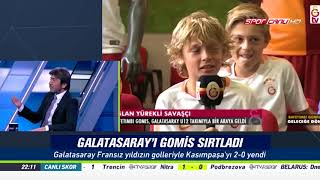 % 100 Futbol Galatasaray - Kasımpaşa 16 Eylül 2017