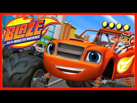 Blaze and the Monster Machines | The Driving Force | Cartoon | Kids