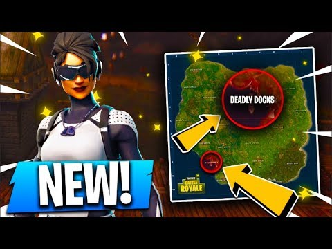 *NEW* DEADLY DOCKS Map Location!! ( Fortnite Concepts / Update )