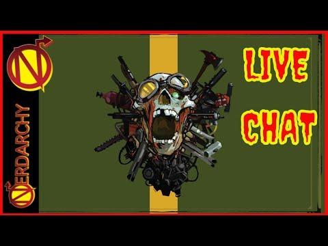 Demogorgons, Zombies, and Role-playing Games- Nerdarchy Live Chat #235