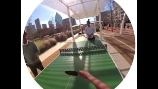 Ping Pong with Snapchat Spectacles!