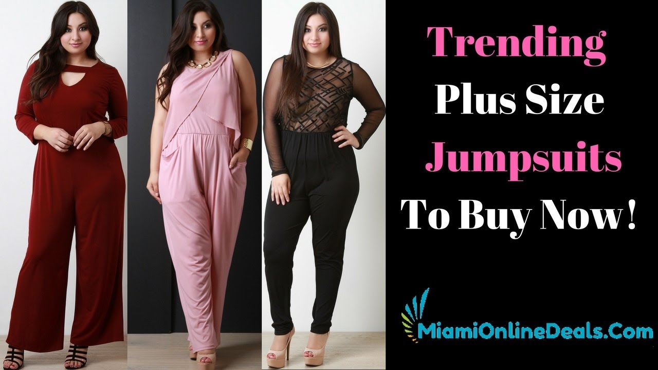 bfa69c0237e Plus Size Outfit Jumpsuits For Women - Vestidos Plus Outfits Para Gorditas