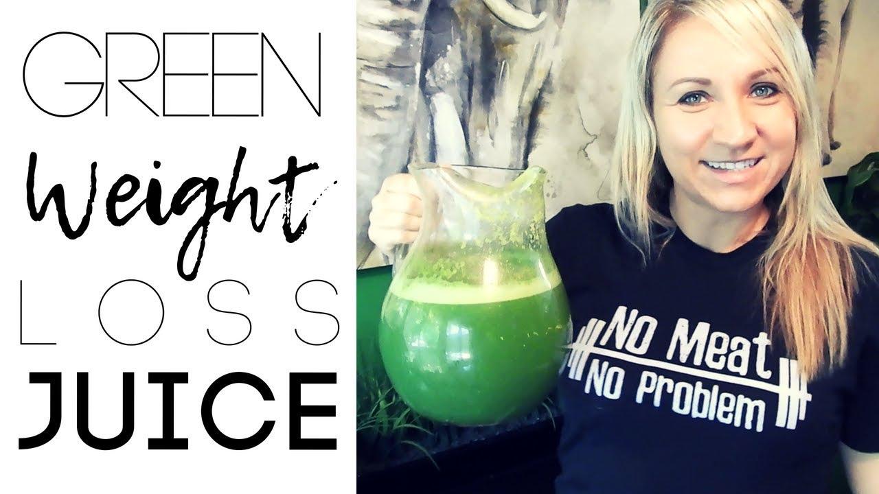 Massive Weight Loss Green Juice Recipe - YouTube