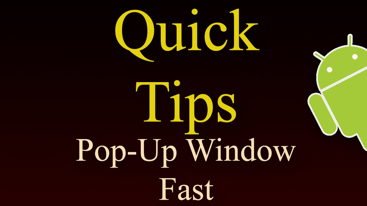 How To Create Pop Up Window In Android Faster Method Youtube