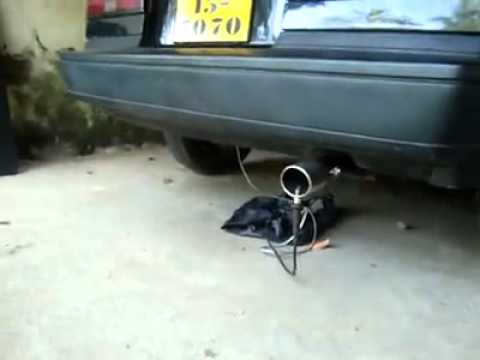 hqdefault exhaust flame thrower kit tested with a car!! youtube Propane Exhaust Flamethrower Kit at gsmx.co