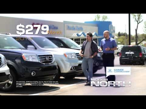 Lease a 2013 Honda Pilot for just $279/month!