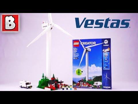 LEGO Vestas Wind Turbine Review! | 10268 Creator Expert 2018