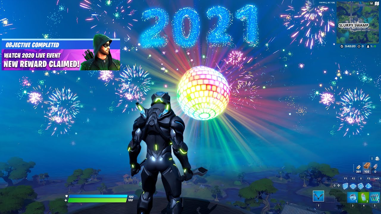 FORTNITE NEW YEAR 2021 LIVE EVENT (Fortnite Battle Royale)