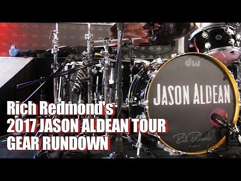 Rich Redmonds Gear Rundown for Jason Aldeans They Dont Know 2017 Tour