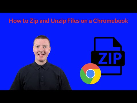 How To Zip And Unzip Files In Chrome OS On A Chromebook