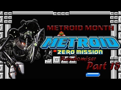 Metroid Month: Metroid Zero Mission Randomiser Part 15 (META RIDLEY)