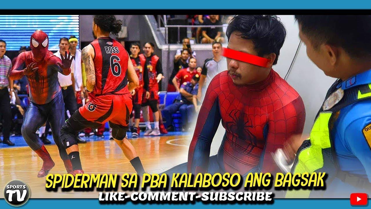 Spiderman sa PBA Kalaboso bagsak | Spiderman Interview | Junmar Message to Spiderman