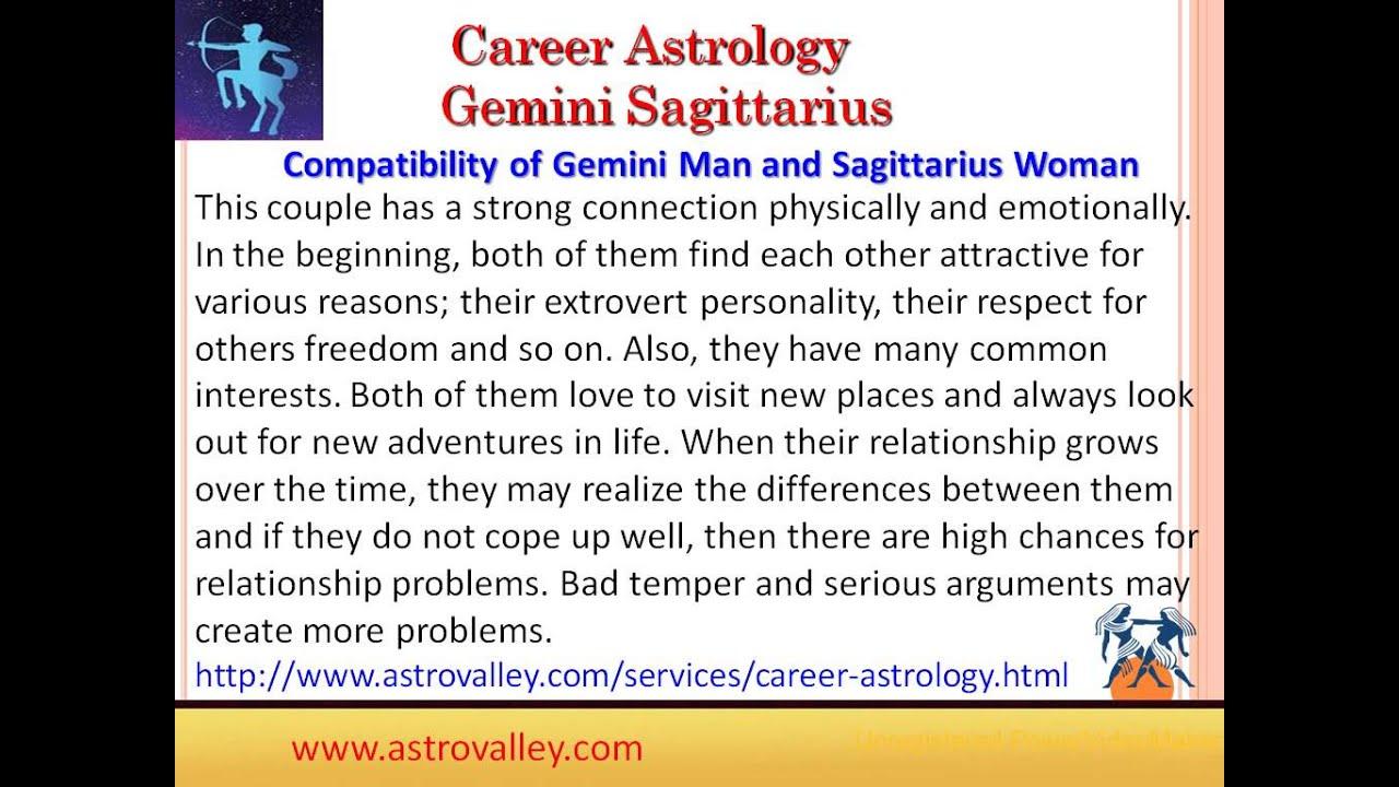 Gemini and sagittarius marriage compatibility